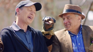 Watch Triumph The Insult Comic Dog Ruthlessly Mock Steve Buscemi's Face