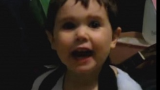 This 2-Year-Old Boy Is Rocking So Hard To Rage Against The Machine That His Face Can't Stop Reacting