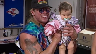 The Best And Worst Of WWF Monday Night Raw 5/20/96: Ultimate Warrior Holding A Baby