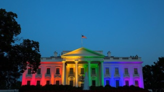 The White House Was Lit Up In Rainbow Colors To Celebrate The SCOTUS Gay Marriage Ruling