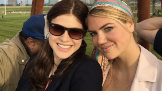 'Dinosaurs With Huge T*ts': Kate Upton And Alexandra Daddario Pitched A 'Jurassic World' Sequel
