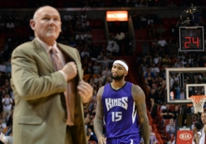 DeMarcus Cousins Really Wants You To Know He's Made Peace With George Karl