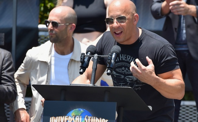 Is Vin Diesel running for president of the Fast/Furious franchise?