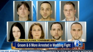 A Groom Challenged Cops To Fight In The Drunkest Pennsylvania Wedding Brawl Ever