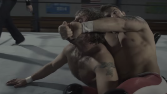 Here's What Happens When You Film A Wrestling Match Like A Movie Fight Scene