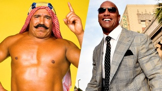 The Rock Shared The Iron Sheik's Advice For Young Wrestlers: 'Keep Your F*cking Mouth Shut'