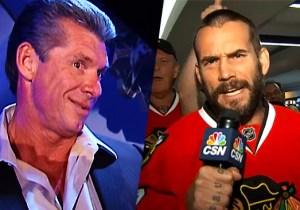 Vince McMahon Passive-Aggressively Sent A Title Belt To CM Punk's Beloved Chicago Blackhawks