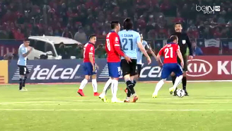 Here's Your WTF Moment Between Chile And Uruguay At Copa America