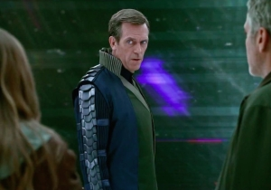 "Why Hugh Laurie in ""Tomorrowland"" is my #WeirdCrushWednesday"