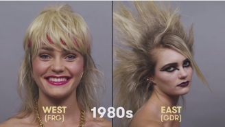 Watch 100 Years Of German Beauty Whiz By You In Less Than 90 Seconds