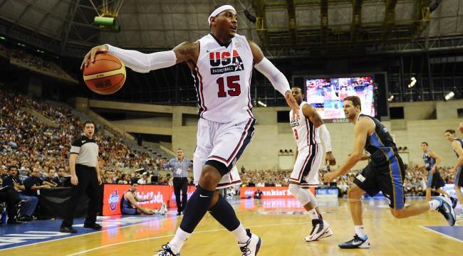 USA v Argentina - Men's Exhibition Game