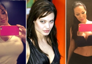 The Internet Is Losing Its Mind Over This Angelina Jolie Look-Alike