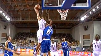 Five-Star Basketball Recruit Jayson Tatum Showed No Mercy With This Dunk On A Greek Player