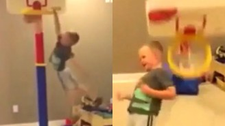 Watch This Kid Get Served A Big Dose Of Karma After A Sweet Dunk