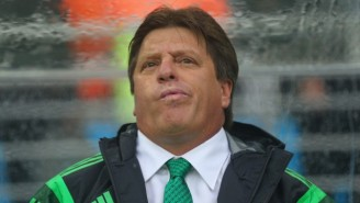 Mexican National Coach Miguel Herrera Was Fired For Allegedly Punching A Reporter