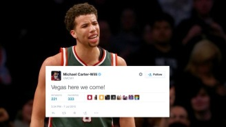 Find Out Why Bucks Fans Flipped Out At This Michael Carter-Williams Tweet