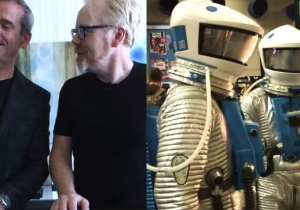 Adam Savage And Chris Hadfield Cosplayed As '2001' Astronauts At San Diego Comic-Con