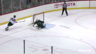 This Minnesota Wild Prospect Even Impressed Himself With This Crazy Shootout Goal
