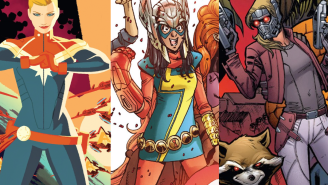GIRLS GIRLS GIRLS: Marvel puts women front-and-center in their new line-up