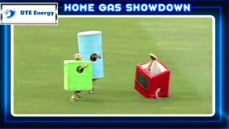 Things Went Hilariously Wrong In This Minor League Appliance Race