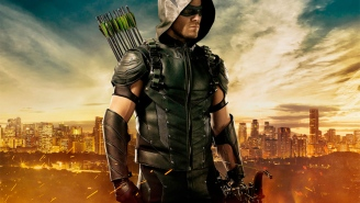 Wanna see the new 'Arrow' suit?
