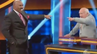 Veteran Actor Ed Asner Gave A Hilarious Answer On 'Celebrity Family Feud'