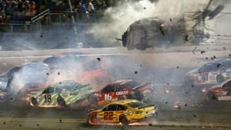 Austin Dillon Talks About Surviving The Massive Wreck At Daytona On Sunday