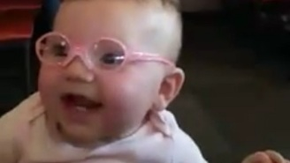 Watch This Baby See Her Parents Clearly For The First Time And Cry Some Happy Tears