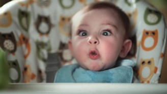Watch As These Adorable Babies Make Poop Faces In A Pampers Commercial