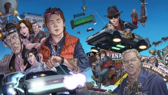 Exclusive: Adorable variant cover of new 'Back to the Future' comic series