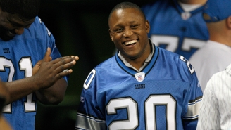 Rediscover The Greatness Of Lions' Running Back Barry Sanders With These Highlights