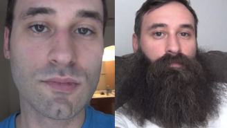 This Guy Took A Selfie Every Day For A Year To Show Off His Massive Beard