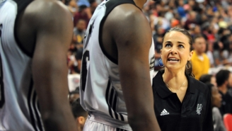 Becky Hammon Continued To Blaze A Trail For Women At Summer League Saturday