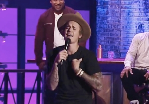Justin Bieber Knows Fergie's 'Big Girls Don't Cry' A Little Too Well On 'Lip Sync Battle'