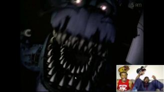 Big E Getting Jump-Scared By Five Nights At Freddy's Is Today's Most Important Story