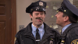 Watch As Bill Hader And Jimmy Fallon Spit Food On Each Other For Comedy