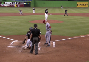 If You're Not Looking, Billy Hamilton Is Probably Stealing A Base