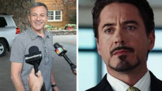 Disney CEO Pulls A Tony Stark When Responding To Marvel/DC Competition Questions