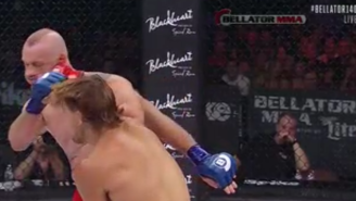 Brennan Ward's Knockout Of Roger Carroll At Bellator 140 Was Brutal