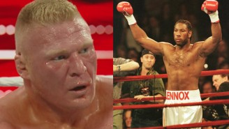 Lennox Lewis Says WWE Offered Him £5 Million To Wrestle Brock Lesnar In 2002