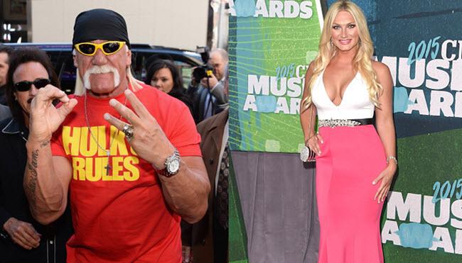Brooke and Hulk Hogan