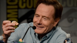 Bryan Cranston has a Your Mom joke for you