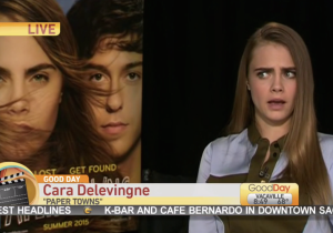Cara Delevingne Was Having None Of This Awkward Morning Show Interview