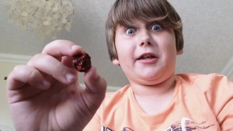 This Kid Eats A Carolina Reaper Pepper And Almost Immediately Regrets It