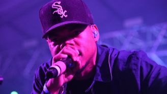 Chance The Rapper Performed With Kirk Franklin And A Gospel Choir At Pitchfork Music Festival