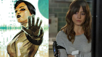 Chloe Bennet goes full 'Johnson' for new season of 'Agents of S.H.I.E.L.D.'