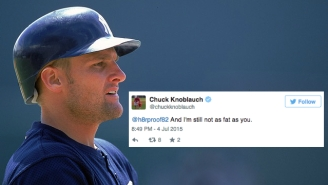 Chuck Knoblauch Attacked Twitter Trolls And It Didn't Go So Well