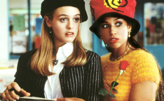 CLUELESS, Alicia Silverstone, Stacey Dash, 1995