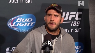 CM Punk Hurt Himself And His UFC Debut Has Been Pushed Back To Next Year
