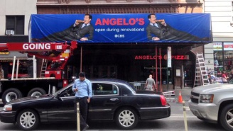 Stephen Colbert Is Giving Angelo's Pizza Some Seductive Free Advertising